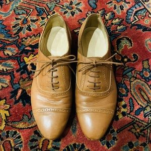 J-Crew Wing Tip Oxfords